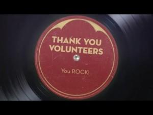 Thank You Volunteers LP